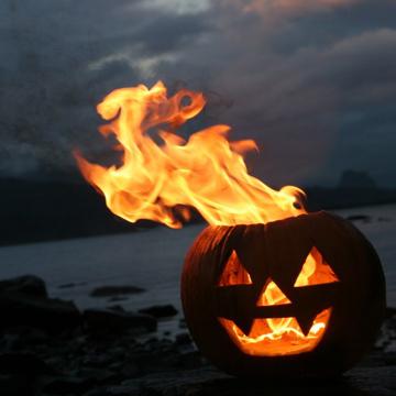 Samhain Jack-o-lantern