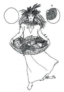 Mabon Harvest Goddess