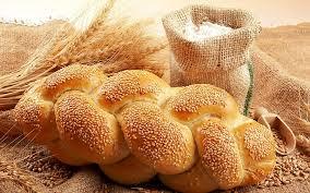 braid bread grain